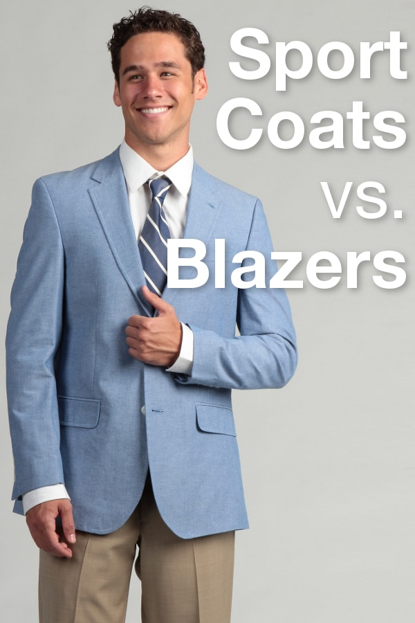 Sport Coats vs. Blazers from Overstock™. Have you ever wondered what the difference is between a blazer and a sports coat? Here is the answer.