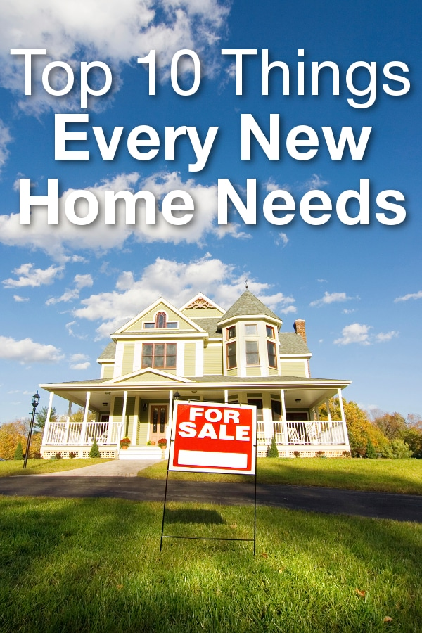 Top 10 things every new home needs overstock for Things you need for a new home