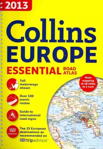 Collins Europe Essential Road Atlas 2013 (Paperback)