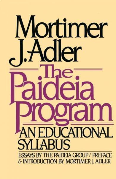 Paideia Program (Paperback)