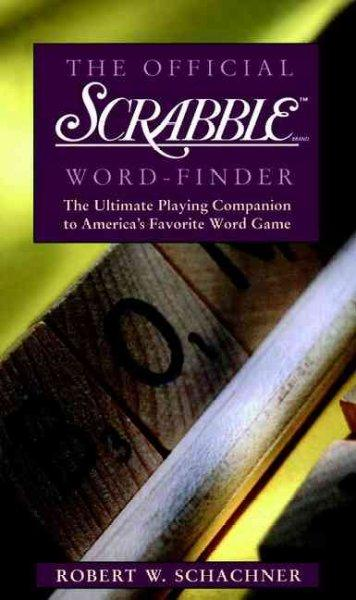 The Official Scrabble Brand Word-Finder (Paperback)