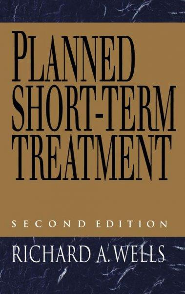Planned Short-Term Treatment (Hardcover)