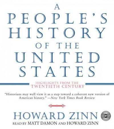 A People's History of the United States: Highlights from the 20th Century (CD-Audio)