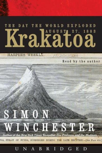 Krakatoa: The Day the World Exploded: August 27, 1883 (Audio cassette)