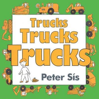 Trucks Trucks Trucks (Board book)