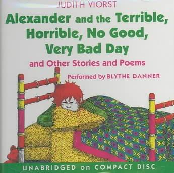 Alexander and the Terrible, Horrible, No Good, Very Bad Day (CD-Audio)