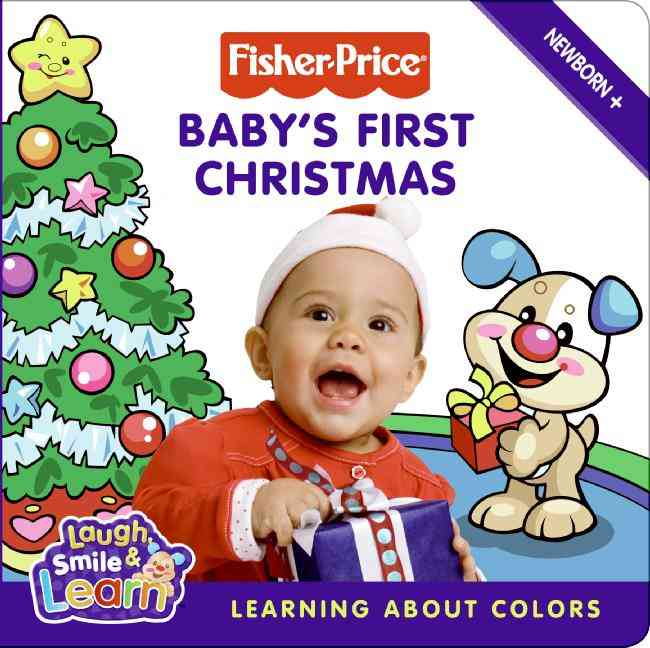 Baby's First Christmas: Learning About Colors (Board book)