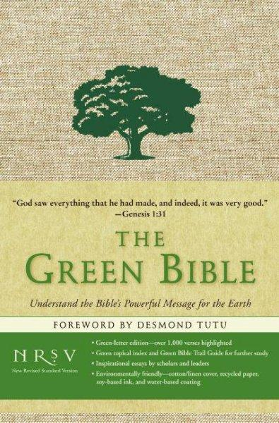 The Green Bible: New Revised Standard Version (Hardcover)
