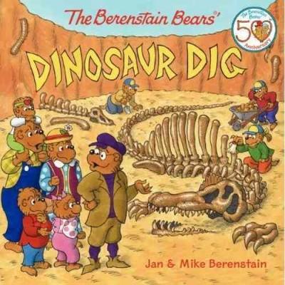 The Berenstain Bears' Dinosaur Dig (Paperback)