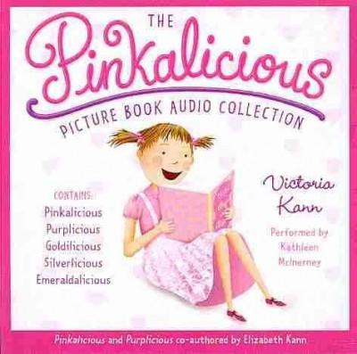 The Pinkalicious Picture Book Audio Collection: Pinkalicious, Purplicious, Goldilicious, Silverlicious, Emeraldali... (CD-Audio)