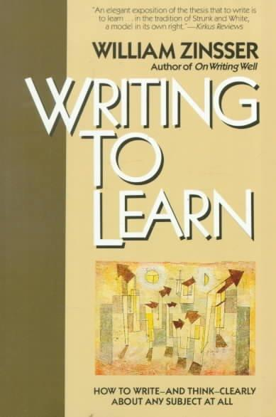 Writing to Learn (Paperback) - Thumbnail 0