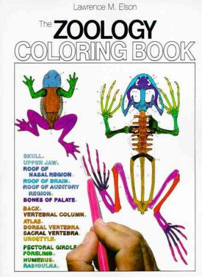 The Zoology Coloring Book (Paperback)