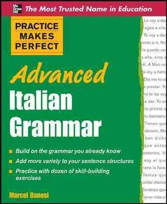 Advanced Italian Grammar (Paperback)