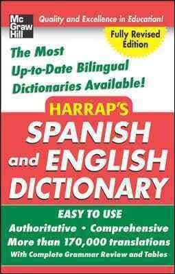 Harrap's Spanish and English Dictionary (Hardcover)
