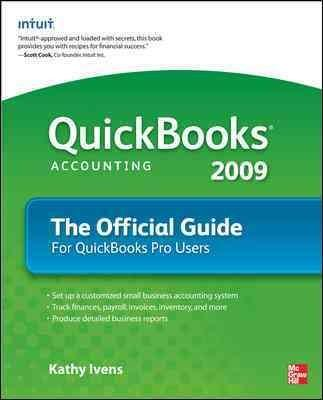 QuickBooks 2009: The Official Guide (Paperback)