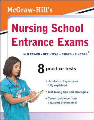 McGraw-Hill`s Nursing School Entrance Exams (Paperback)