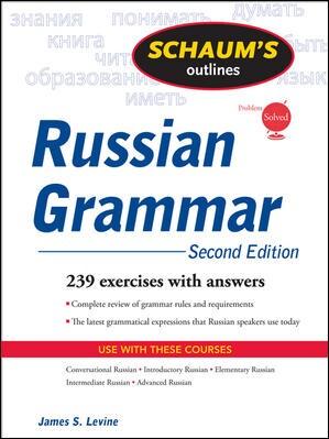 Schaum's Outlines of Russian Grammar (Paperback)