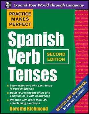 Spanish Verb Tenses (Paperback)