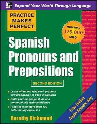 Spanish Pronouns and Prepositions (Paperback)