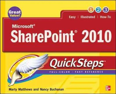 Microsoft Sharepoint 2010 QuickSteps (Paperback)