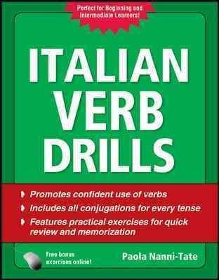 Italian Verb Drills (Paperback)