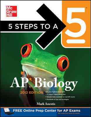 5 Steps to a 5 Ap Biology, 2012-2013 (Paperback)