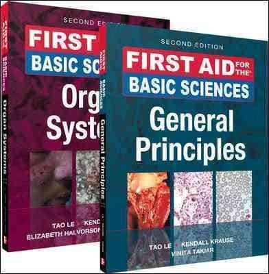 First Aid for the Basic Sciences General Principles / First Aid for the Basic Sciences Organ Systems (Paperback)