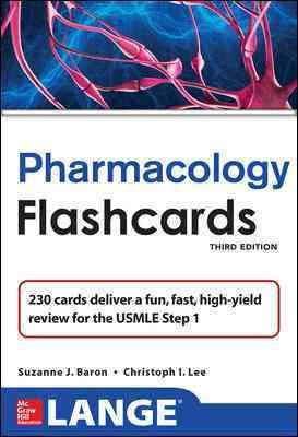 Lange Pharmacology Flashcards (Cards)