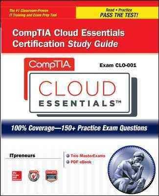 Comptia Cloud Essentials Certification Exam Clo-001