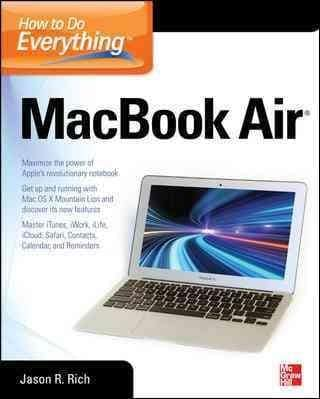 How to Do Everything MacBook Air (Paperback)