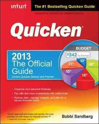 Quicken 2013: The Official Guide (Paperback)