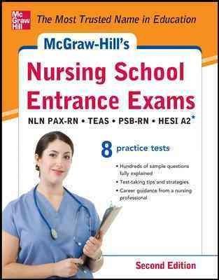 McGraw-Hill's Nursing School Entrance Exams: National League for Nursing Pre-Adminission Examination (NLN PAX-RN)... (Paperback)