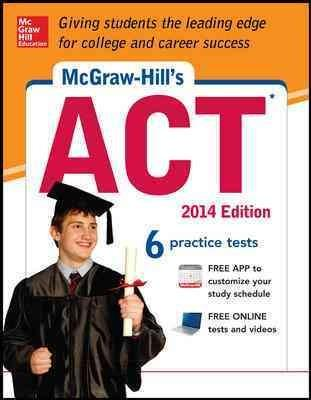 McGraw-Hill's ACT 2014 (Paperback) - Thumbnail 0