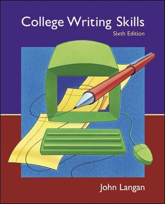 College application writing john langan