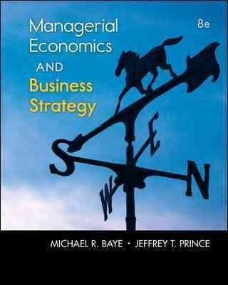 Managerial Economics & Business Strategy (Hardcover)