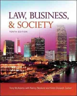 Law, Business, and Society (Hardcover)