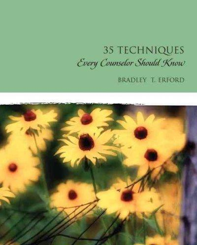 35 Techniques Every Counselor Should Know (Paperback)