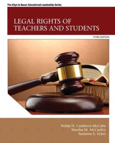 Legal Rights of Teachers and Students (Paperback)