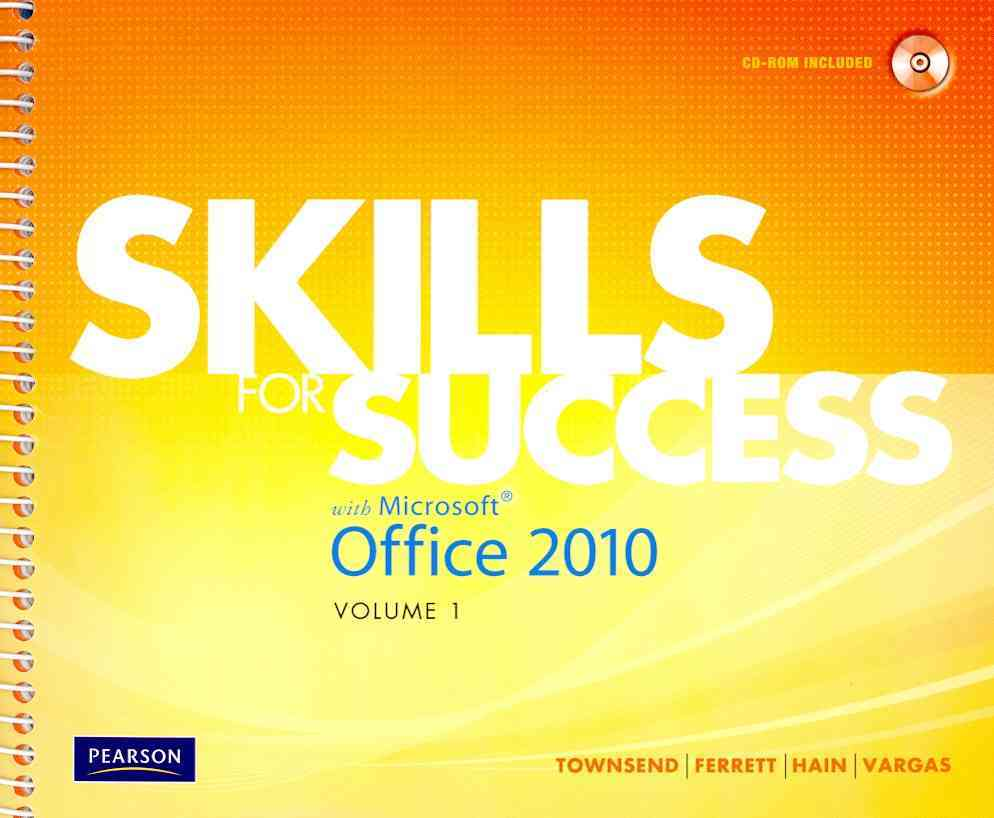 Skills for Success With Microsoft Office 2010