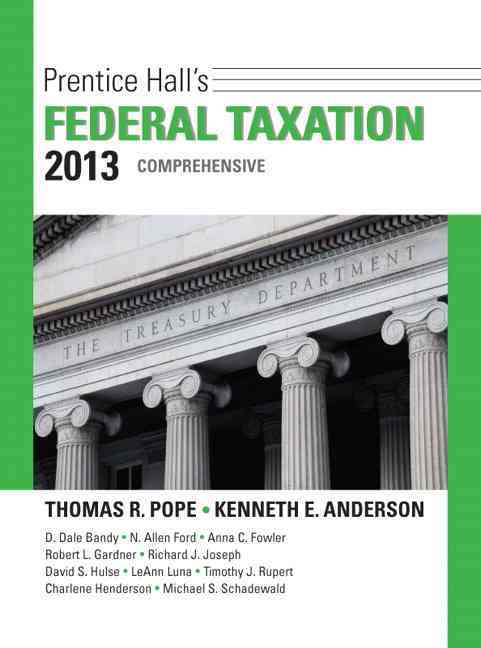 Prentice Hall's Federal Taxation 2013 Comprehensive (Hardcover)