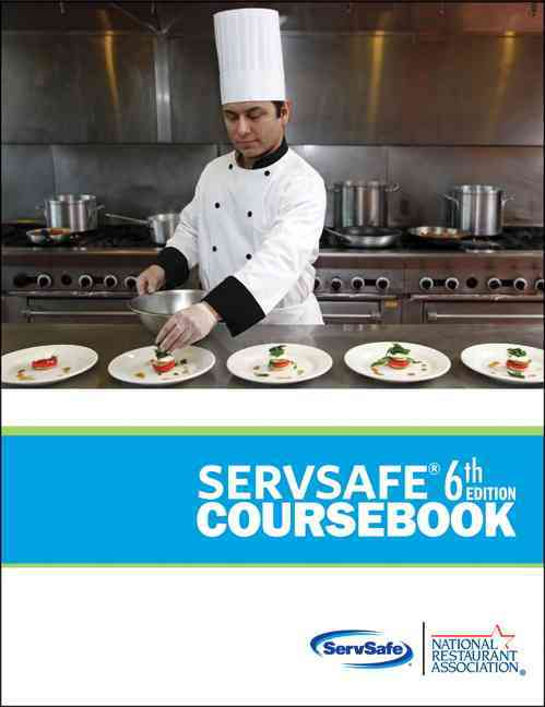 Servsafe Coursebook: Includes Examination Answer Sheet (Paperback) - Thumbnail 0