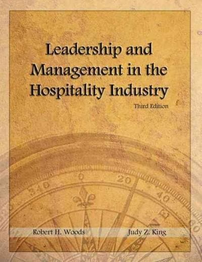 Leadership and Management in the Hospitality Industry (Paperback)