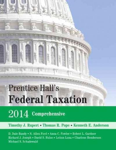 Prentice Hall's Federal Taxation 2014 (Hardcover)