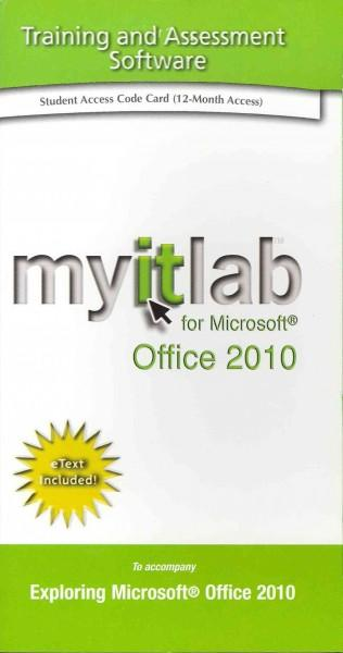 Myitlab For Microsoft Office 2010 Student Access Code (Other merchandise)