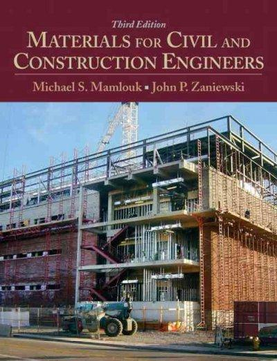 Materials for Civil and Construction Engineers (Hardcover)