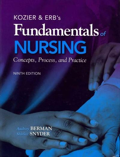 Kozier & Erb's Fundamentals of Nursing: Concepts, Process, and Practice (Hardcover)