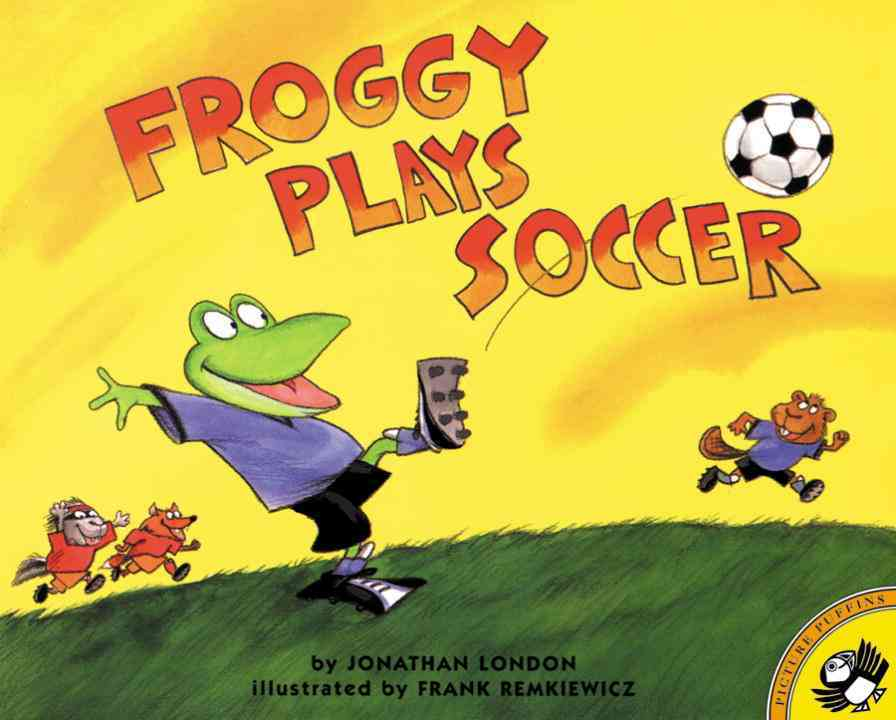Froggy Plays Soccer (Paperback)