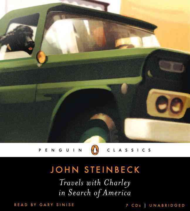 Travels with Charley in Search of America (CD-Audio)