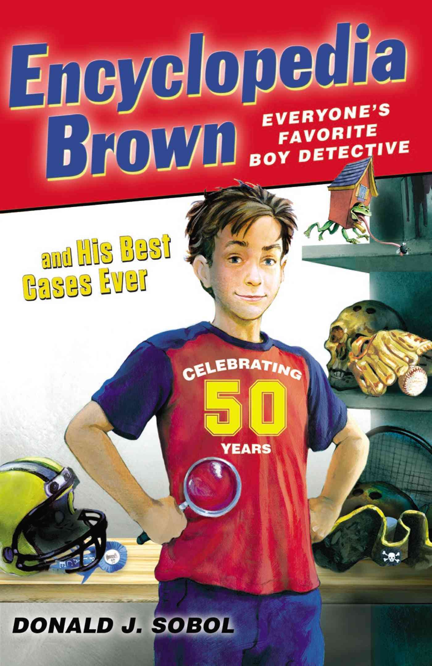 Encyclopedia Brown and His Best Cases Ever (Paperback)