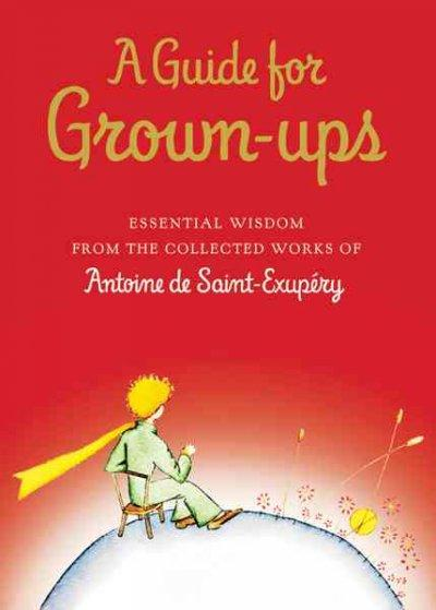 A Guide for Grown-Ups: Essential Wisdom from the Collected Works of Antoine De Saint-Exupery (Hardcover)